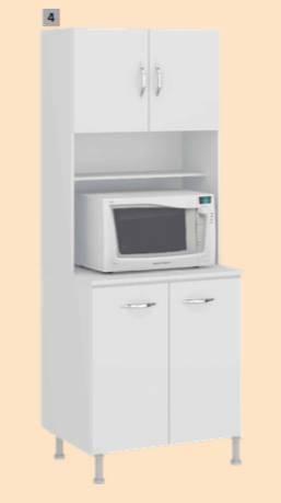 Mueble para cocina con porta horno daniel Mueble para horno