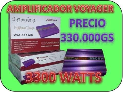 Amplificador analogico de 3300 watts