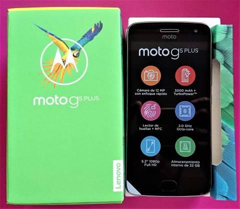 Motorola Moto G5 Plus libres y nuevos en caja