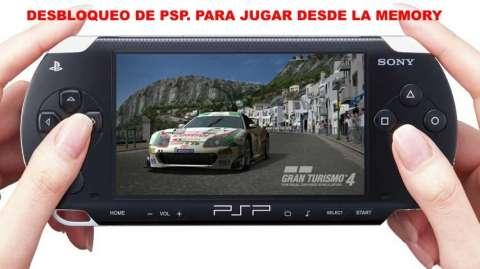 Desbloqueo consola PSP