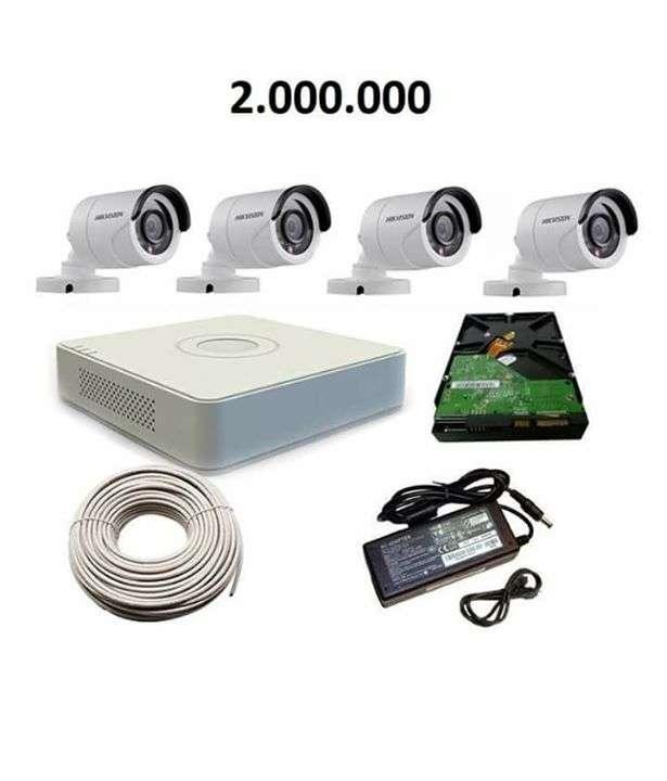 Instalación y venta de 4 cámaras y grabador HD Disco Duro de 1 TB Visualizacion por celular - 0