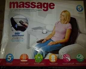 Asientos masajeadores