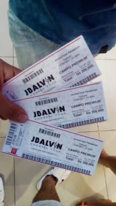 Entrada J. Balvin Campo Premium