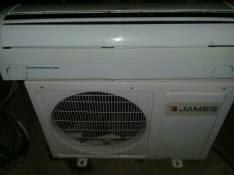 Aire acondicionado split James de 12.000 btu