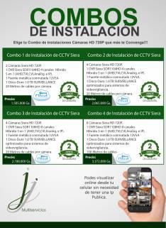 Instalaciones cámaras HD 720P