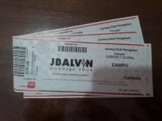Entradas concierto J Balvin sector campo