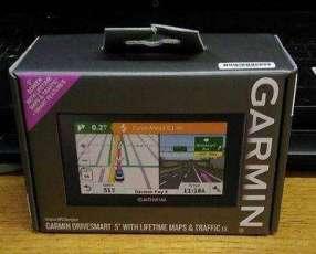 GPS Garmin de 5 pulgadas