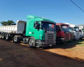 Tracto Scania 124 400 2000