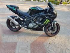 Moto Hyosung 650R motor en V