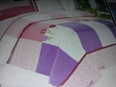 Edredon juego de sabanas fundas y cortina
