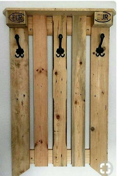 Muebles de palets de pino