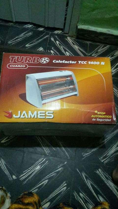 Estufa calefactor James