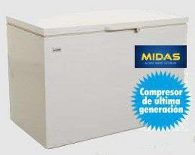 Congelador Midas de 384 litros