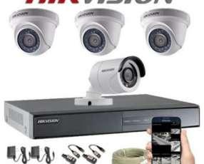 Instalación de cámaras de vigilancia formato HD real 720p