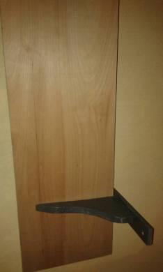 Estantes de madera prensada