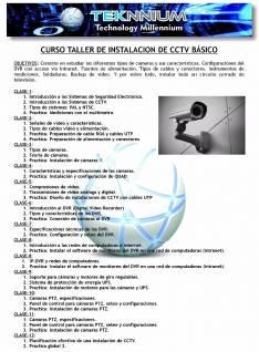 Curso instalación CCTV