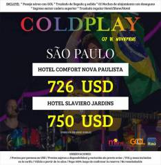 Coldplay en San Paulo 7 noviembre 2017