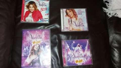 Discos de Violetta