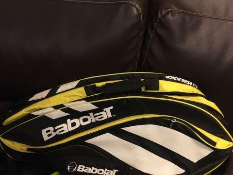 bolsón de tenis babolat para 6 raquetas