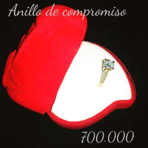 Anillo 18k