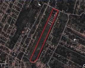 Terreno de 10 Hectáreas sobre asfaltado en la ciudad de Luque