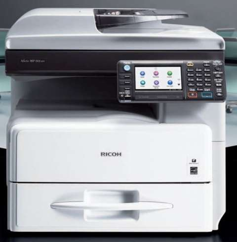 Fotocopiadora RICOH AFICIO MP301 USB