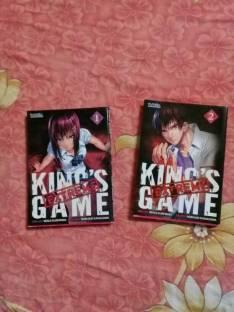 Mangas de la segunda temporada de King's Game