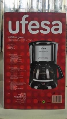 Cafetera Ufesa Aventis Óptima
