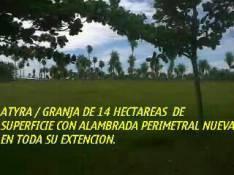 Terreno de 14 hectáreas