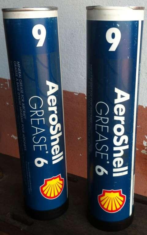 Grasa multiproposito para aviacion Aeroshell 6