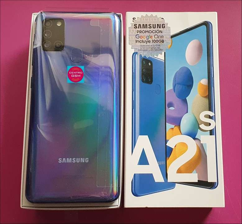 Samsung Galaxy A21S 64 gb nuevos - 1