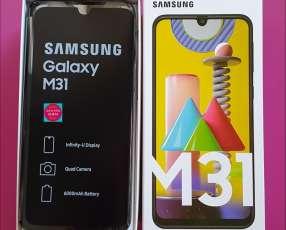 Samsung M31 de 128gb y 6gb ram nuevos!