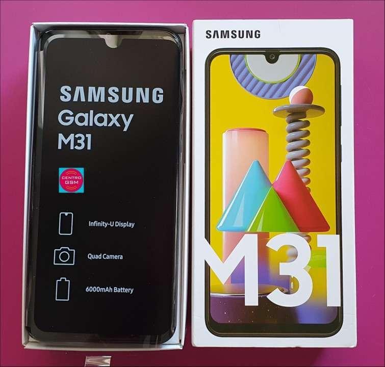 Samsung M31 de 128 gb y 6 gb ram nuevos - 0