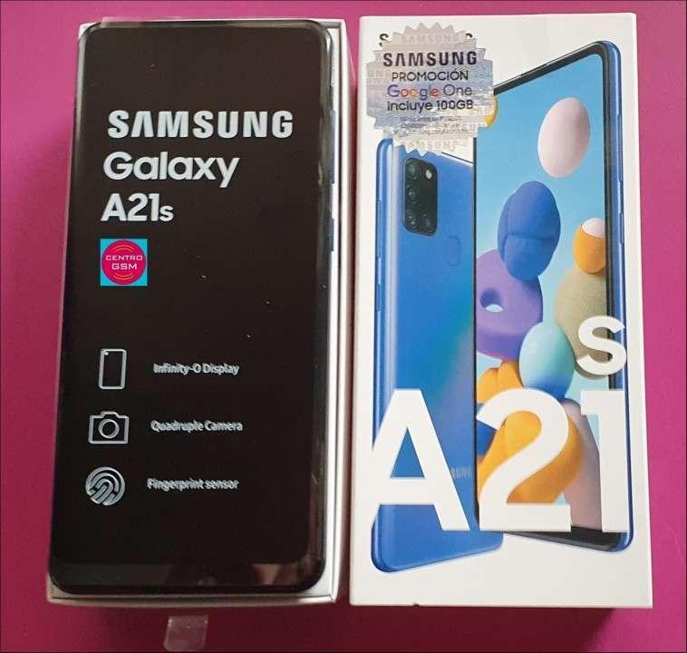 Samsung Galaxy A21S 64 gb nuevos - 0