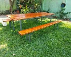 Mesa para quincho o jardín
