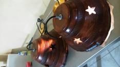 Lámparas colgantes de cerámica