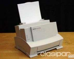 Impresora HP láser jet 6L en desarme