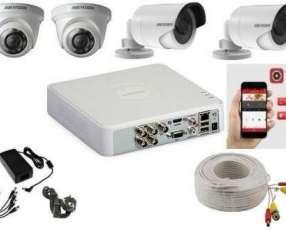Instalación de sistemas de vídeo cámaras full HD