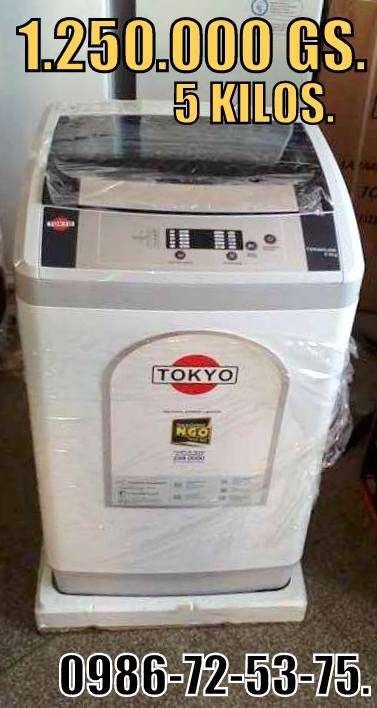 Lavarropas Automática Tokyo de 5 kg