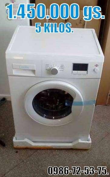 Lavarropas Automática. Tokyo Cecilia de 5 kg