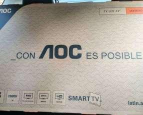 Smart Tv AOC de 43 pulgadas nuevas