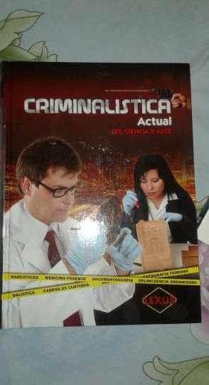 Libros de criminalistica