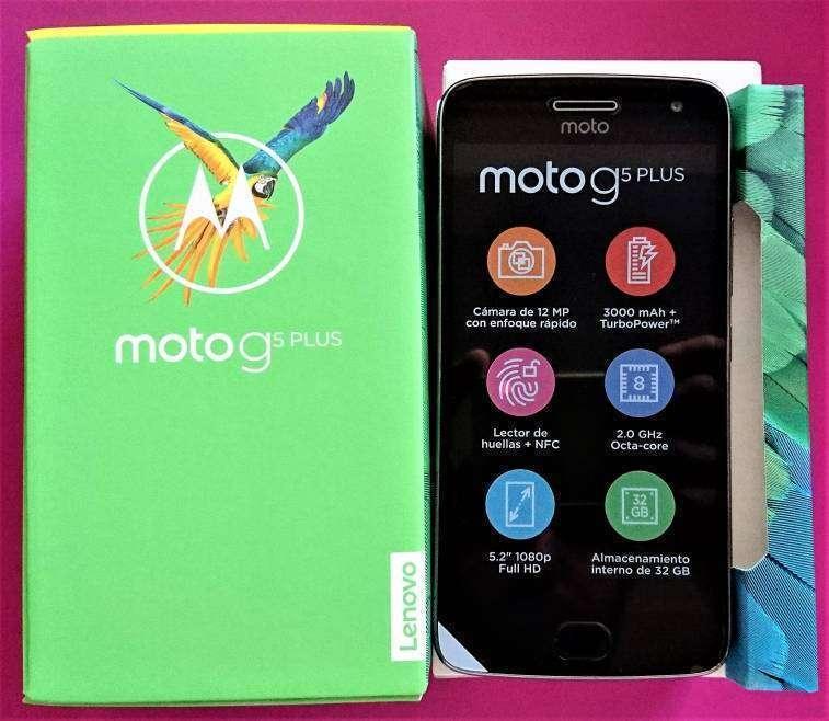 Motorola Moto G5 Plus 32 gb nuevos - 0