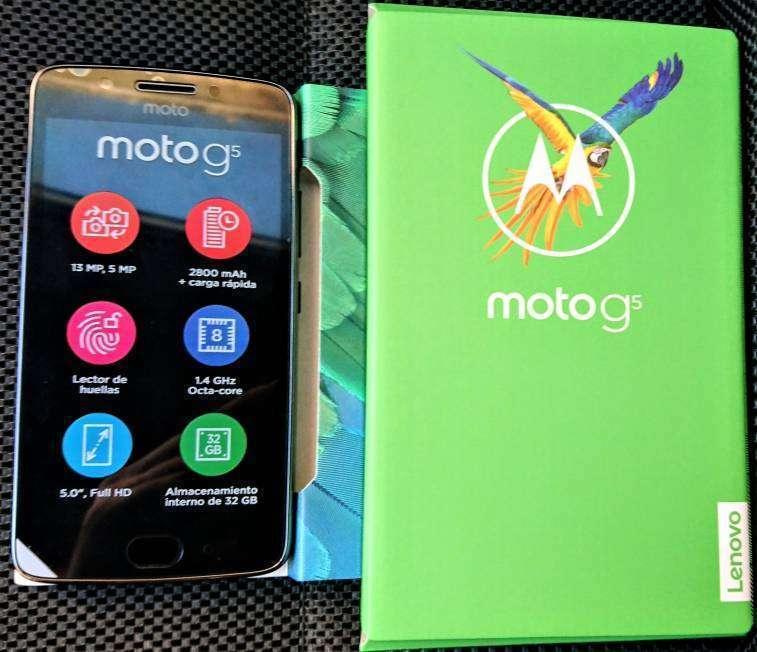 Moto G5 nuevos en caja - 0