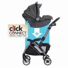 Stroller y baby car con base Graco
