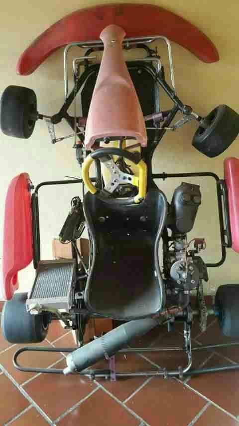 Karting naftero - 0