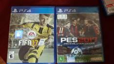 PES 2017 y FIFA 17 para PS4