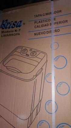 Lavarropa semi automática para 6 kg