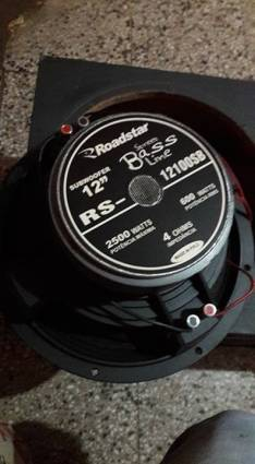 Parlante Strees Bass Line 600 RMS