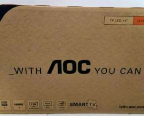 Smart Tv AOC de 49 pulgadas nuevas